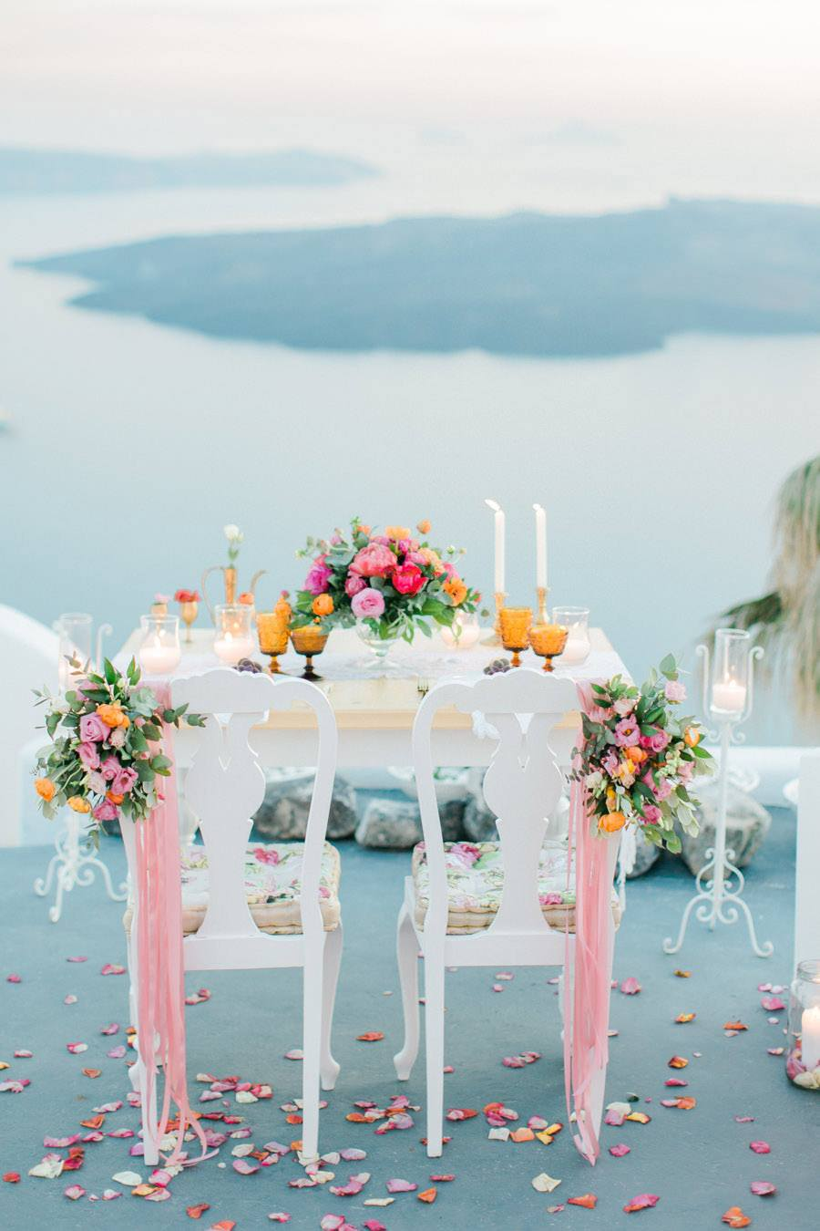 BODA ÍNTIMA EN SANTORINI decoracion-boda-santorini