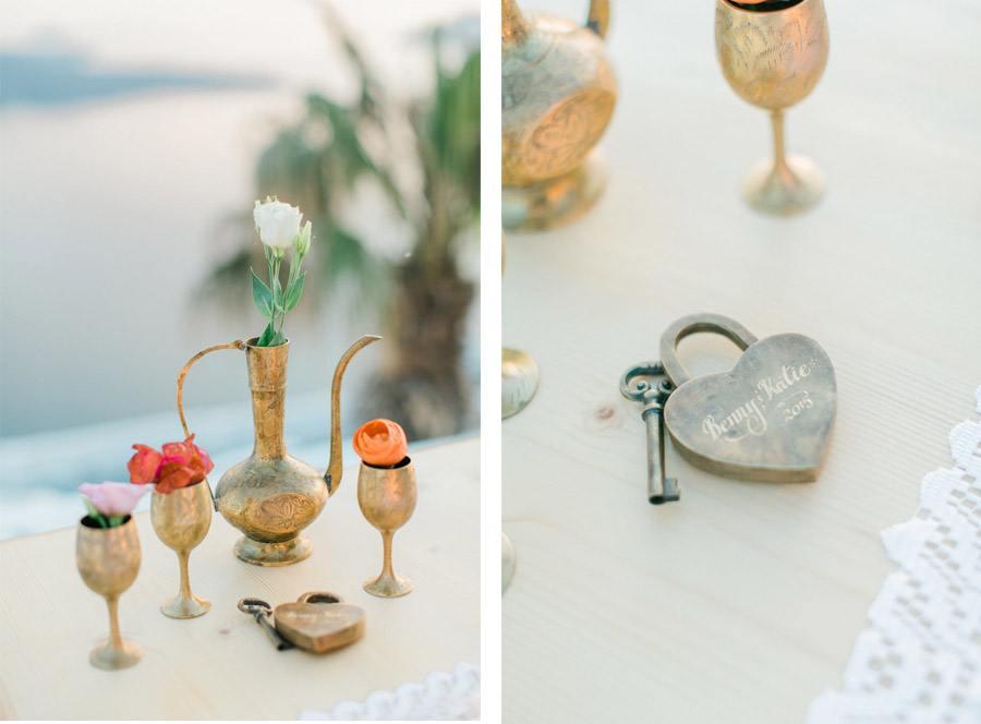 BODA ÍNTIMA EN SANTORINI mesa-boda