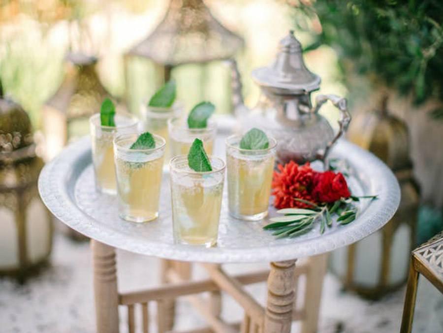 INSPIRACIÓN DE MESA MARROQUÍ bebida-boda-marroqui