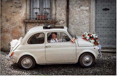 AMOR SOBRE RUEDAS boda-coche