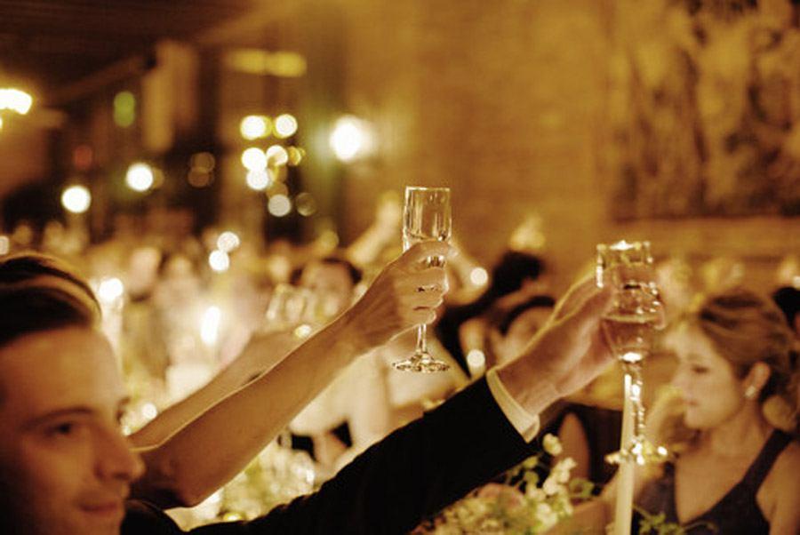 HAYLEY & CHRIS: ROMÁNTICA BODA EN NUEVA YORK brindis-boda