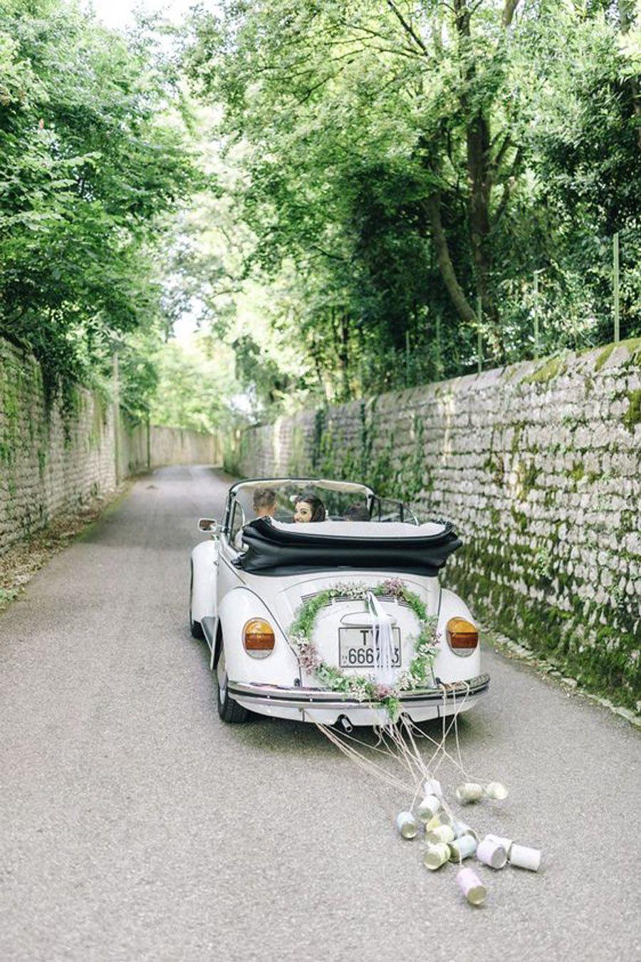AMOR SOBRE RUEDAS coche-de-boda