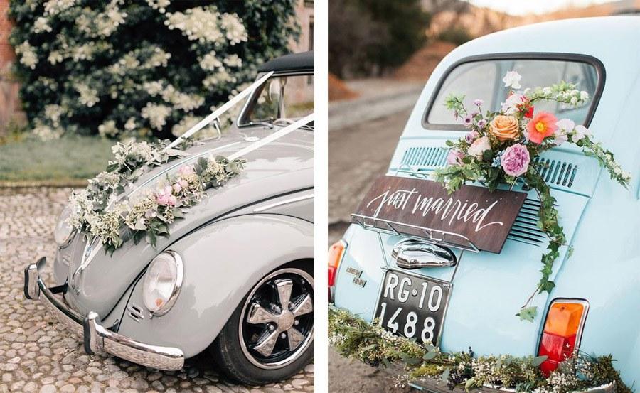 AMOR SOBRE RUEDAS coches-boda