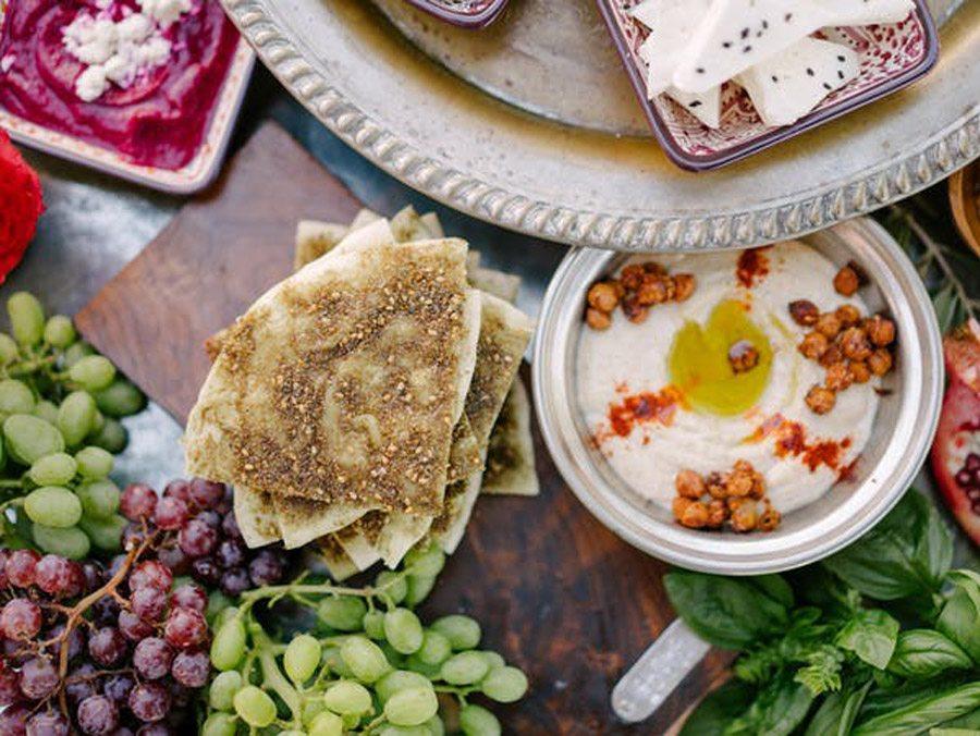 INSPIRACIÓN DE MESA MARROQUÍ comida-marroqui-boda