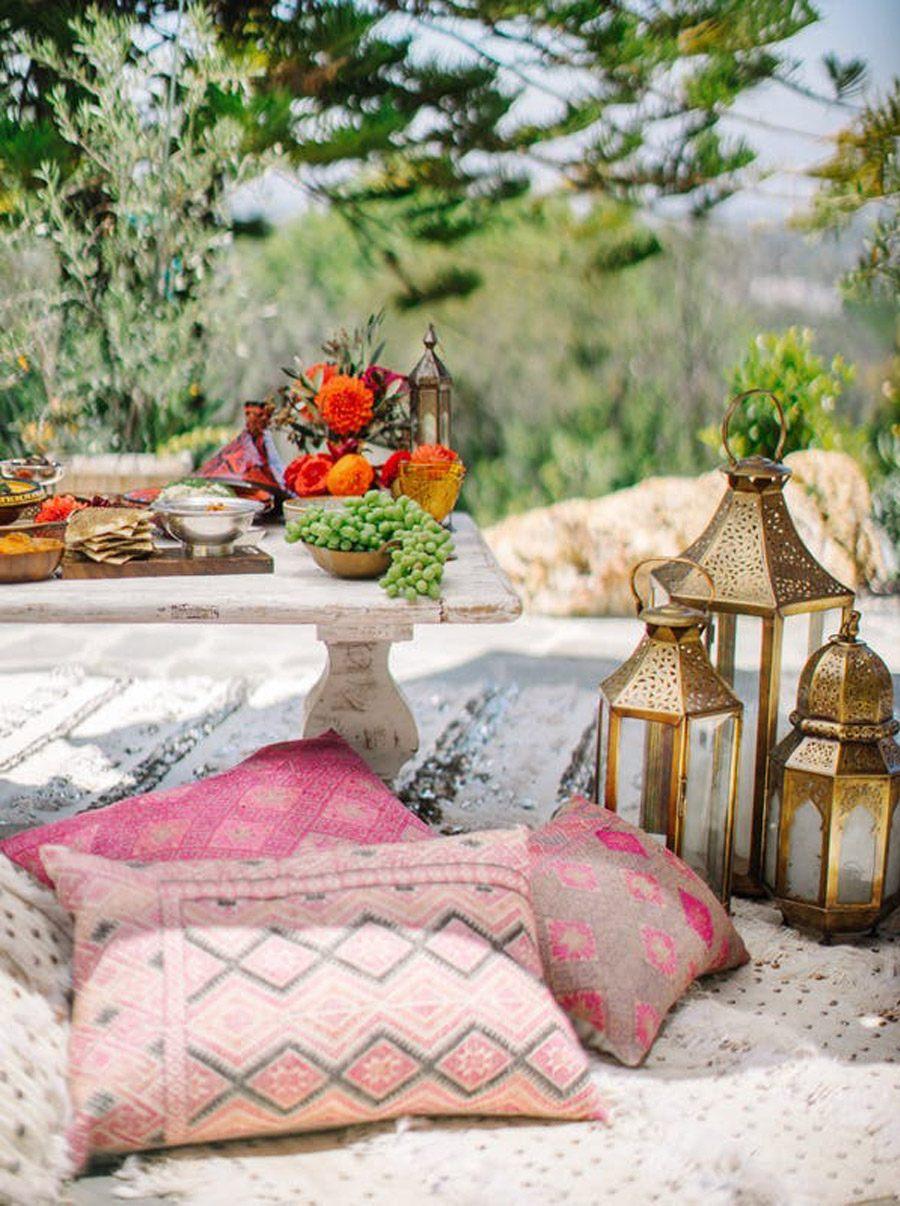 INSPIRACIÓN DE MESA MARROQUÍ deco-marroquí