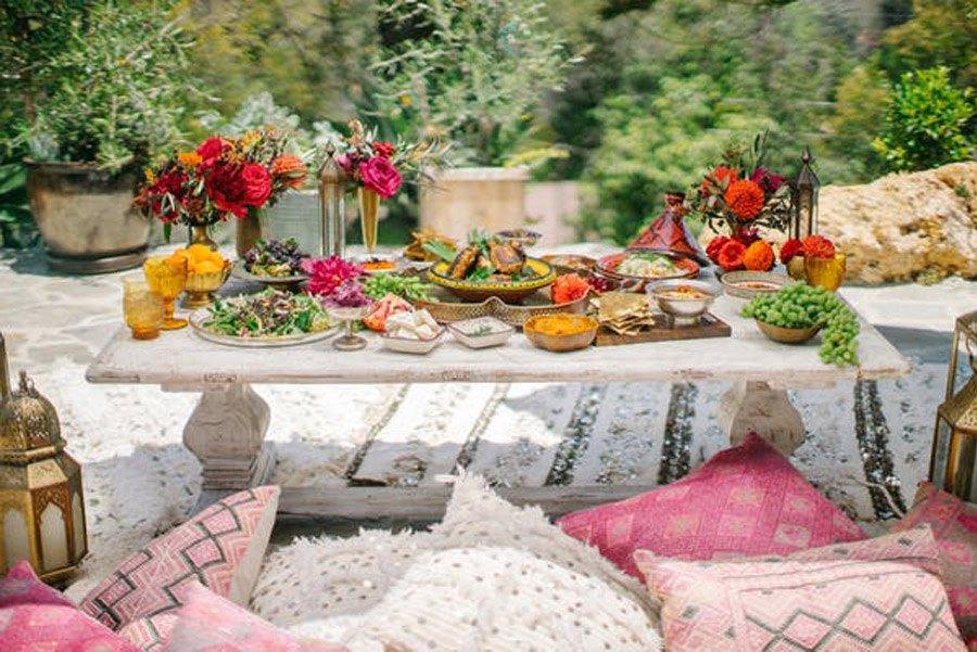 INSPIRACIÓN DE MESA MARROQUÍ marroquí-mesa