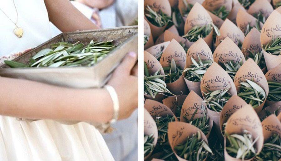 CONFETTI DE HOJAS DE OLIVO olivo-confetti-bodas