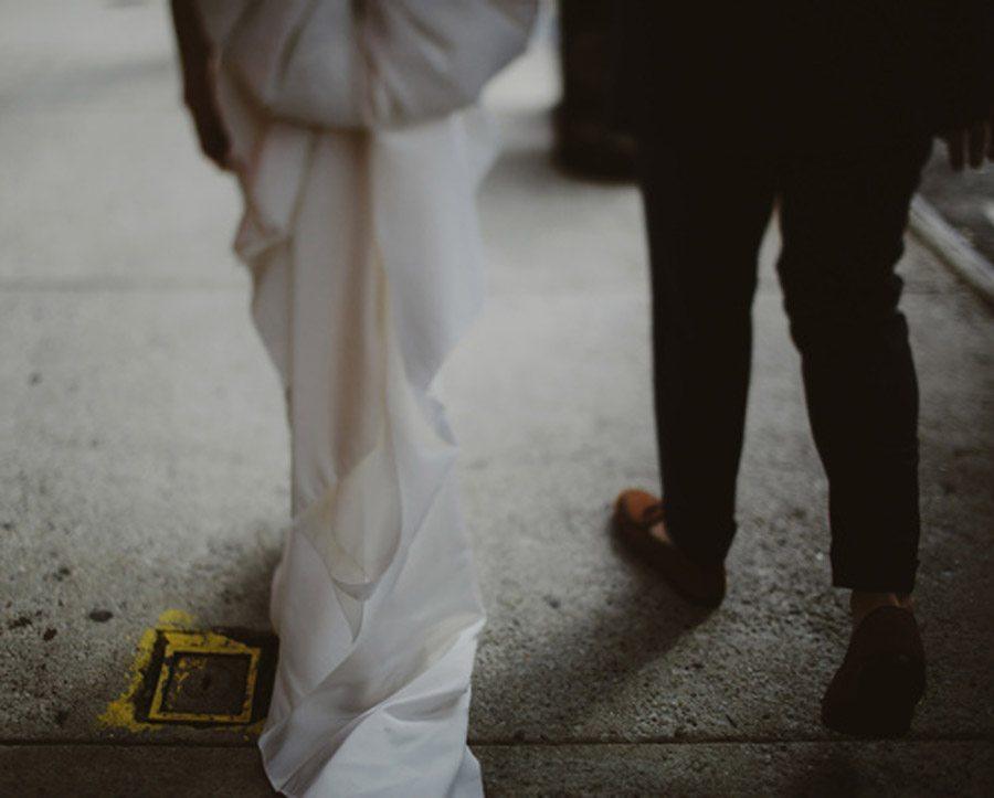 HAYLEY & CHRIS: ROMÁNTICA BODA EN NUEVA YORK paseo-novios