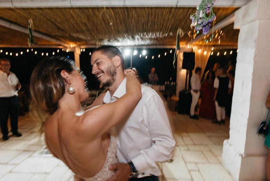 DAN & EMMA: BODA AL SUR DE ITALIA baile-novios