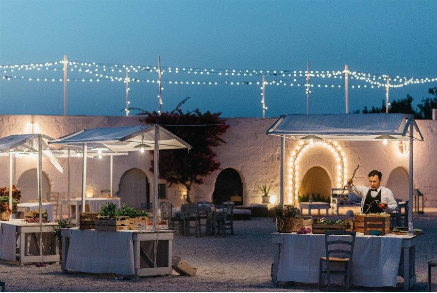 DAN & EMMA: BODA AL SUR DE ITALIA catering-boda-verano