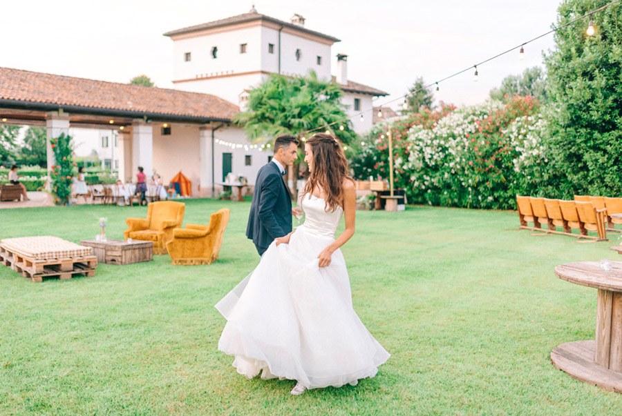 LIALA, ANDREAS Y SU PRECIOSA BODA ITALIANA baile-novios