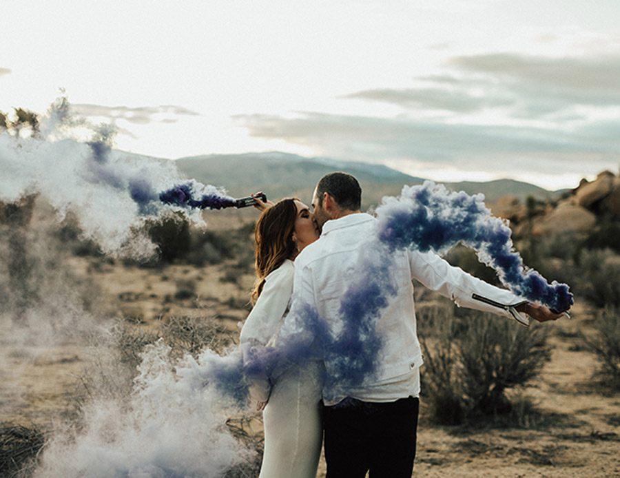 HUMO DE COLORES boda-con-humo-colores