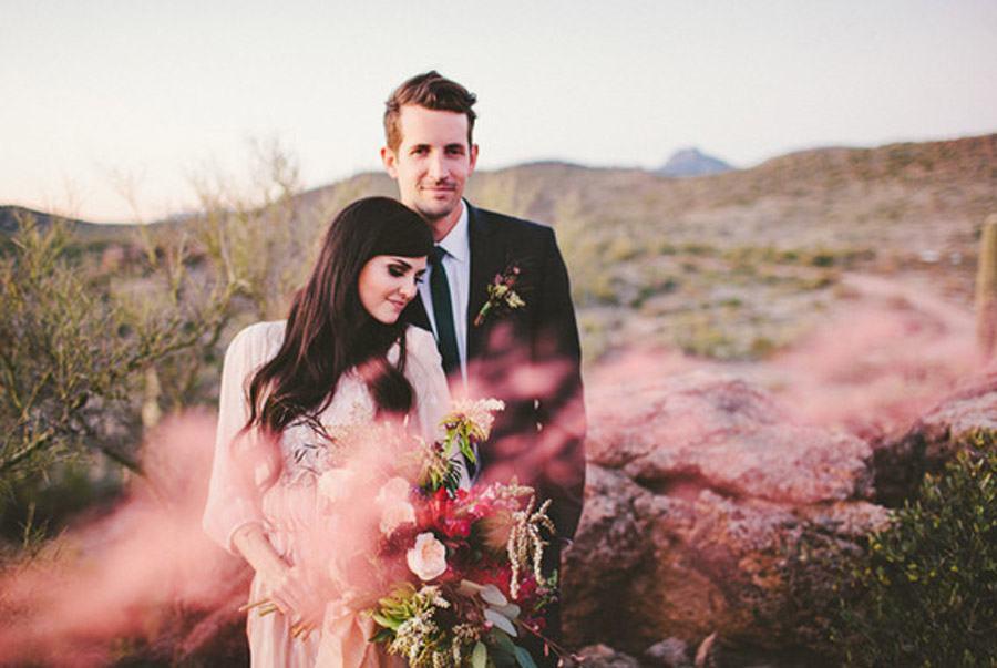 HUMO DE COLORES bodas-con-humo-colores