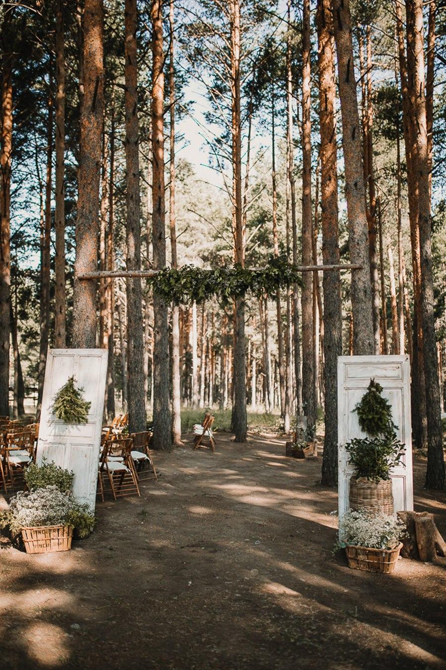 NATALIA & DAVID: UNA SENCILLA BODA DE CAMPO deco-boda-aire-libre
