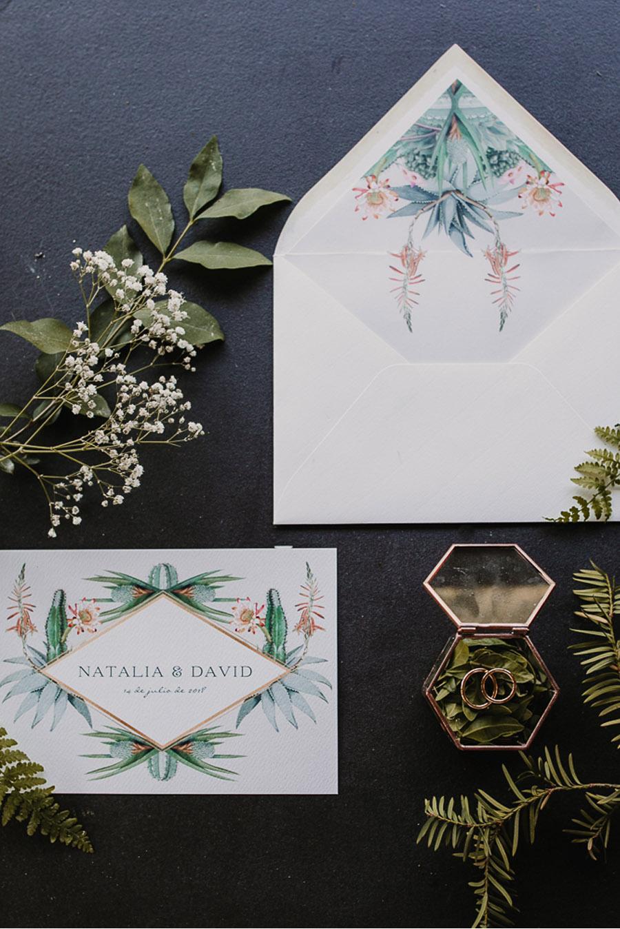 NATALIA & DAVID: UNA SENCILLA BODA DE CAMPO invitaciones-boda