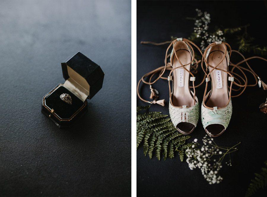 NATALIA & DAVID: UNA SENCILLA BODA DE CAMPO zapatos-boda