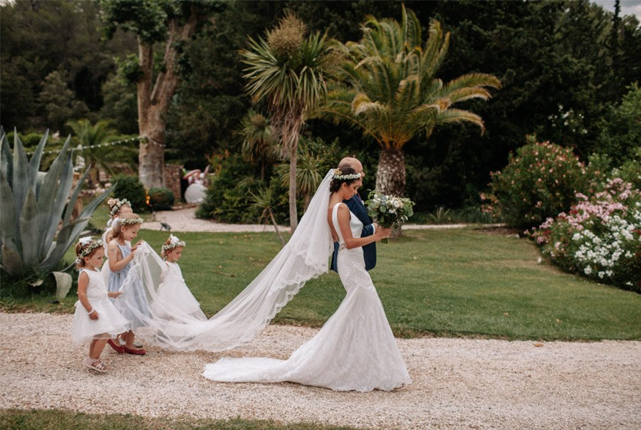 MARINA & PIERRE: INCREÍBLE FIN DE SEMANA DE BODA (II) llegada-novia