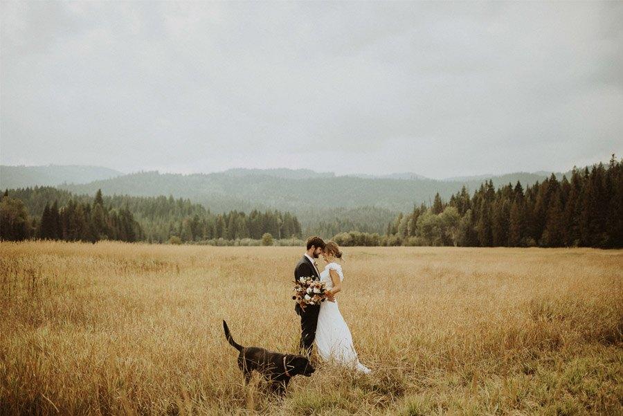 UNA BODA CON SABOR A OTOÑO mascota-boda