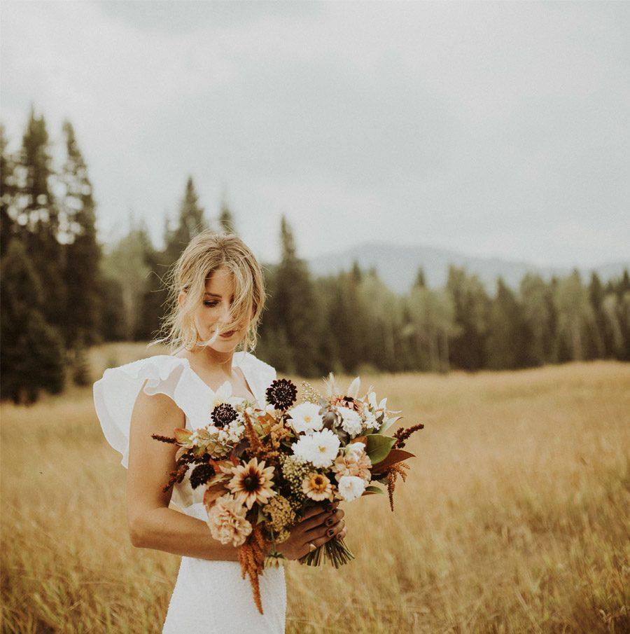 UNA BODA CON SABOR A OTOÑO novia-otoño