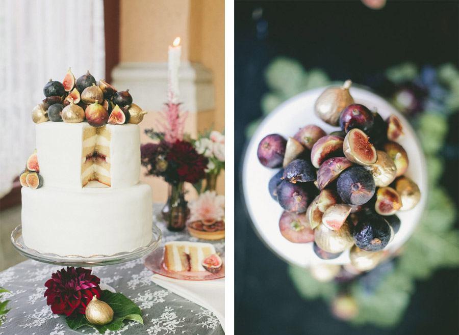 DECORACIÓN DE OTOÑO pastel-boda-otoño