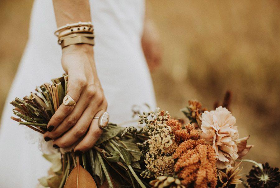 UNA BODA CON SABOR A OTOÑO ramo-otoño