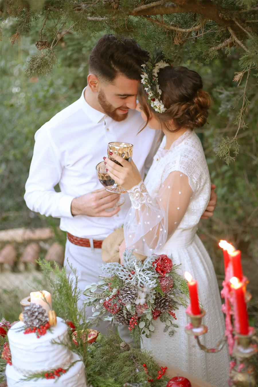 WEDDING CHRISTMAS boda-invierno-novios