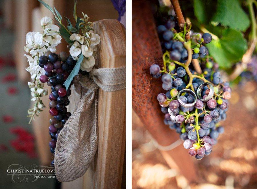 DECORACIÓN DE BODA CON UVAS deco-boda-uvas