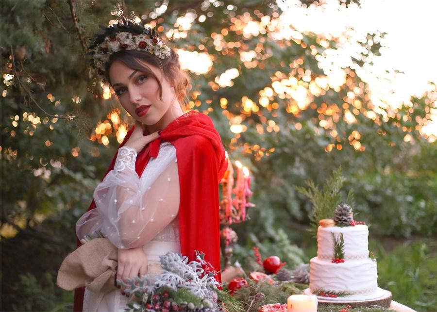 WEDDING CHRISTMAS novia-boda-navidad