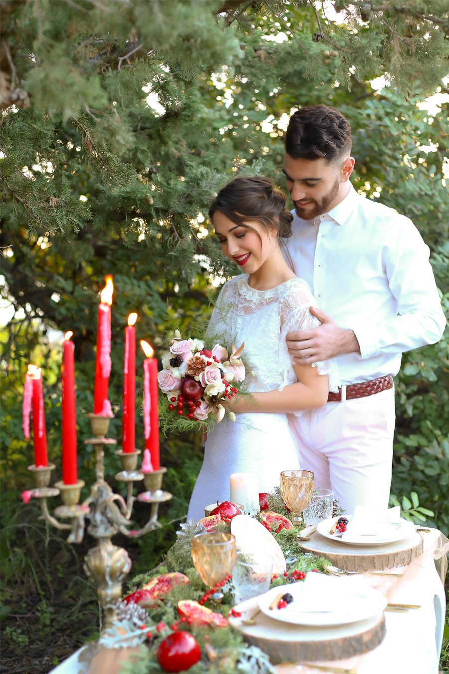 WEDDING CHRISTMAS novios-boda-invierno