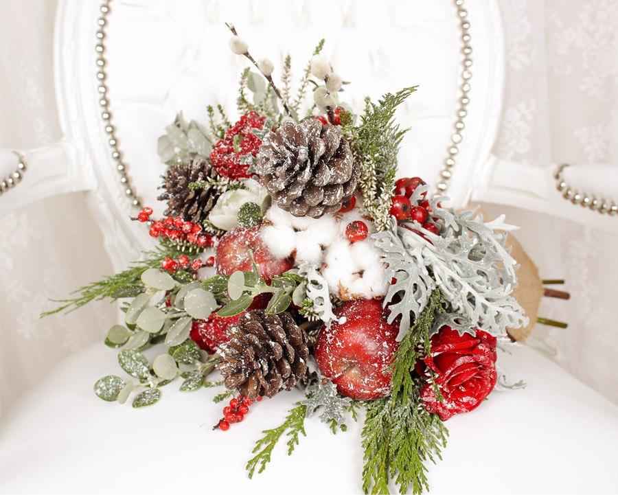 WEDDING CHRISTMAS ramo-novia-navidad