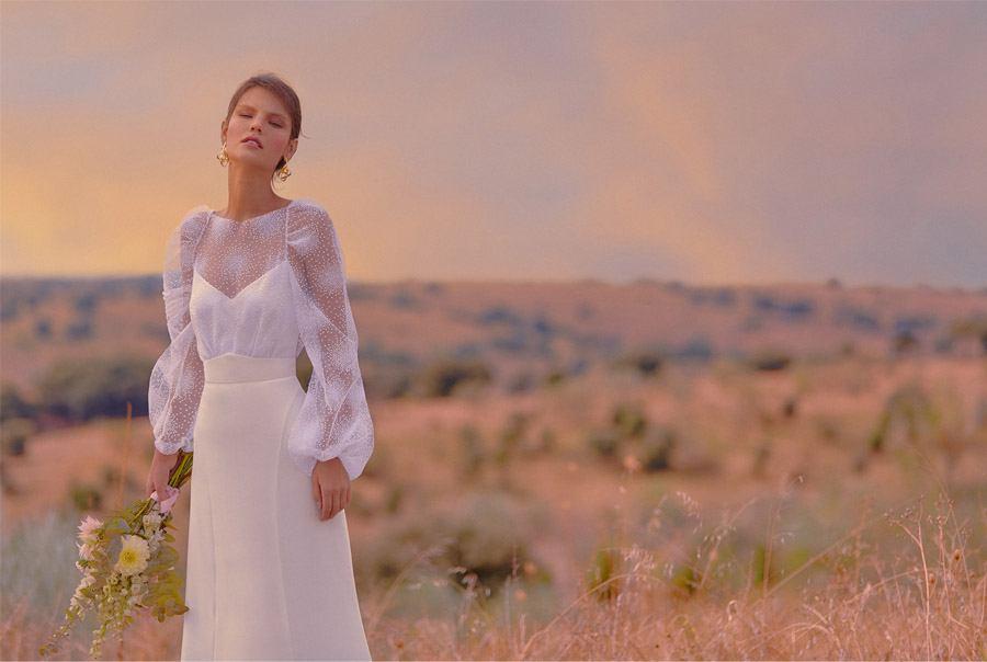BLOOMING PREFACE, NUEVA COLECCIÓN DE BEBA'S vestido-de-novia-bebas