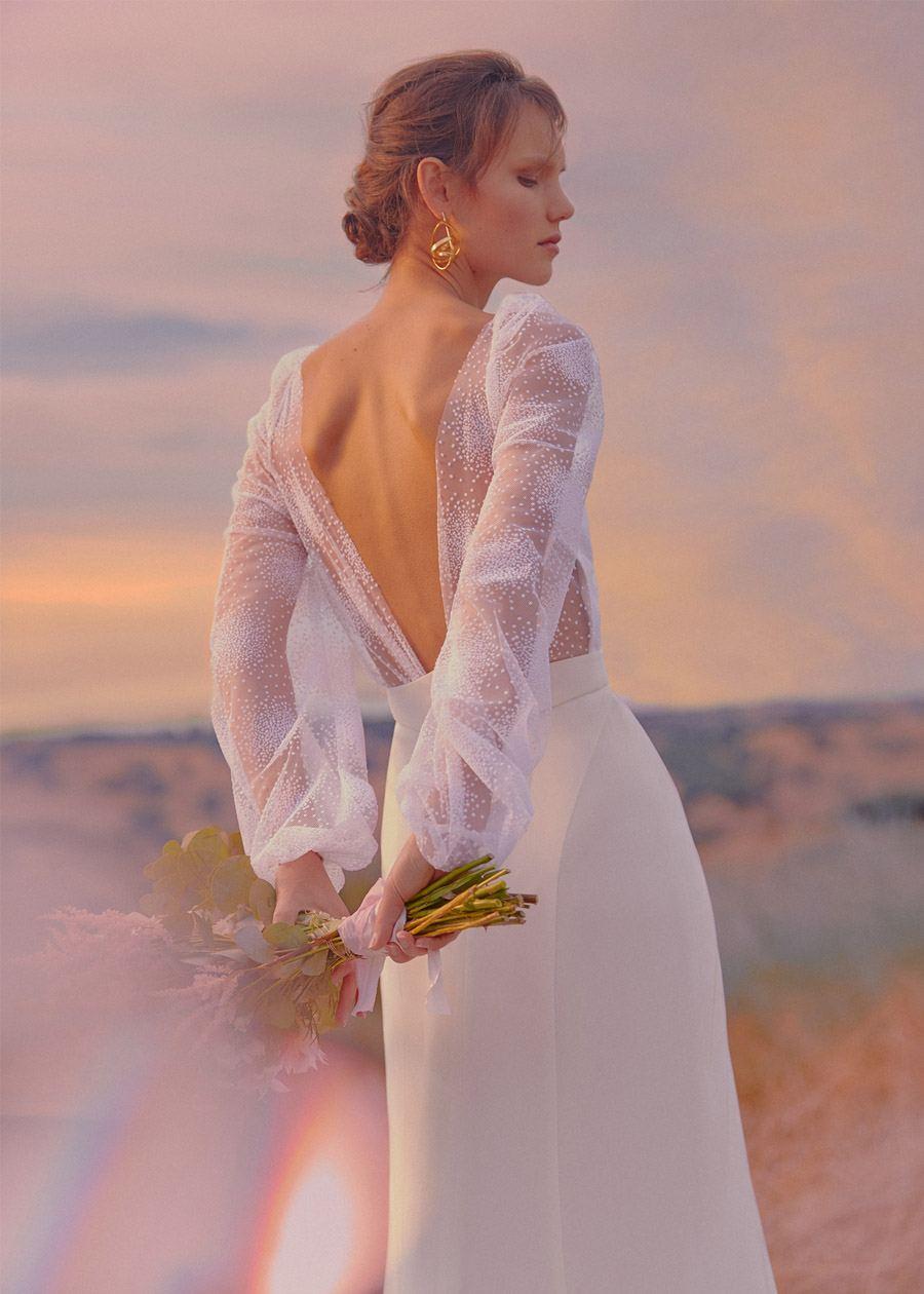 BLOOMING PREFACE, NUEVA COLECCIÓN DE BEBA'S vestido-novia-bebas