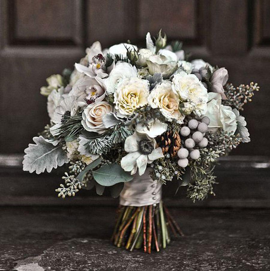RAMOS DE NOVIA CON PIÑAS bouquet-piñas