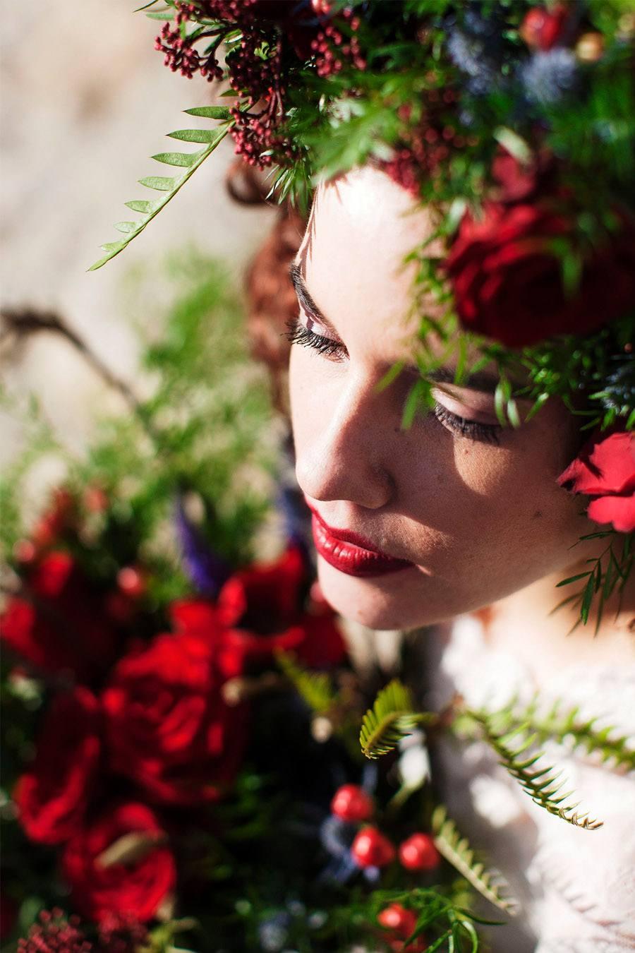 AMOR EN CAMPOS DE CASTILLA novia-invierno