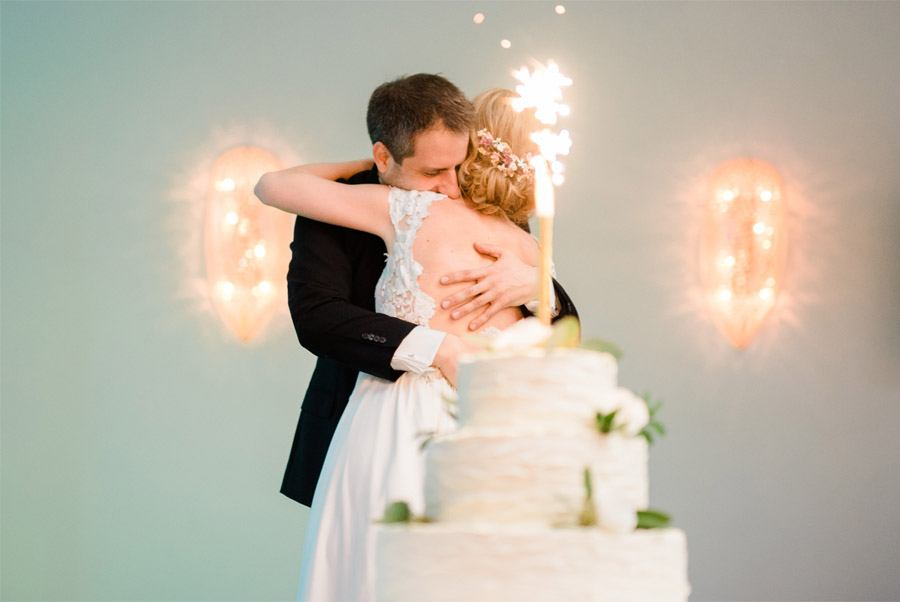 JULIO & ANITA: ROMÁNTICA BODA EN BUDAPEST pastel-boda