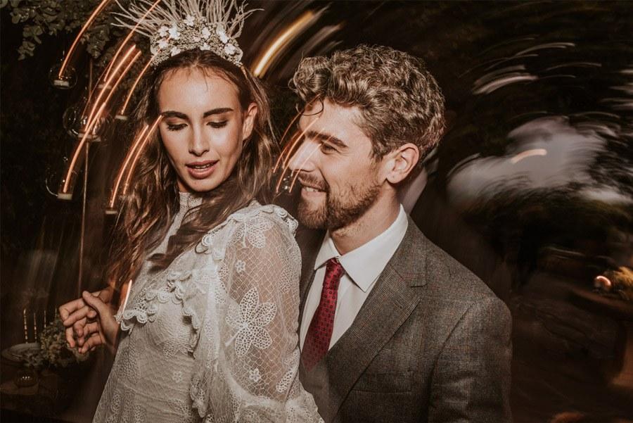 UNA FIESTA EN CAN RIBAS baile-novios