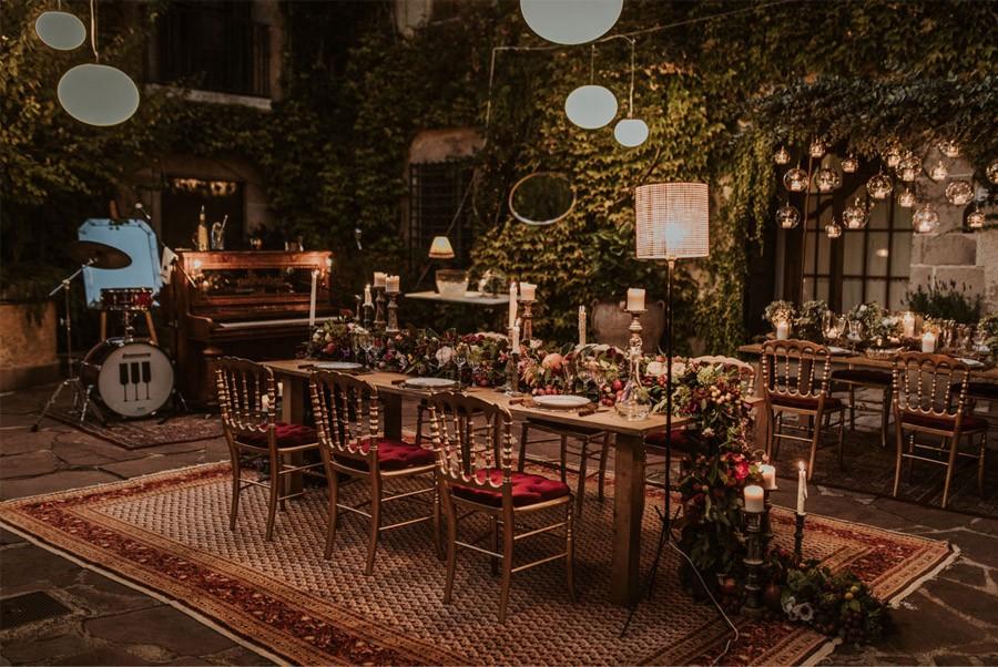 UNA FIESTA EN CAN RIBAS decoracion-mesa-boda