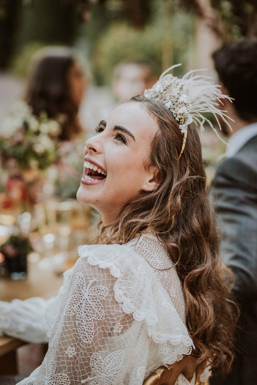 UNA FIESTA EN CAN RIBAS novia-disfrutona