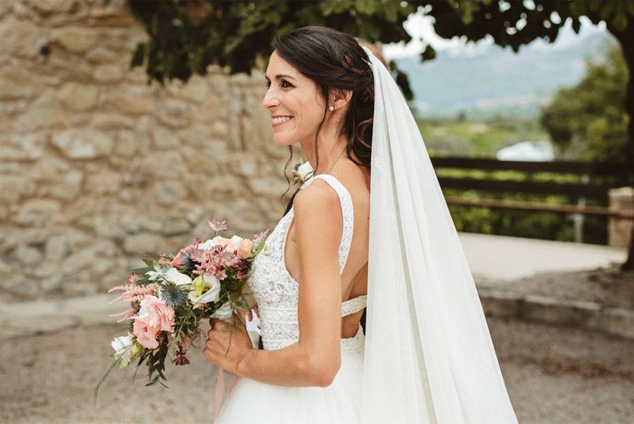 SARA & RAMÓN: UNA BODA LLENA DE SORPRESAS novia