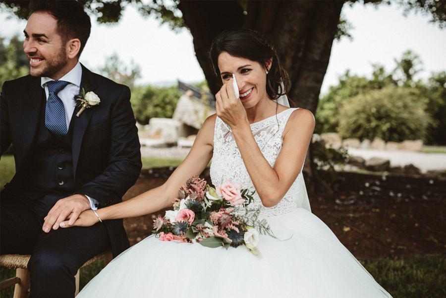SARA & RAMÓN: UNA BODA LLENA DE SORPRESAS novios-ceremonia