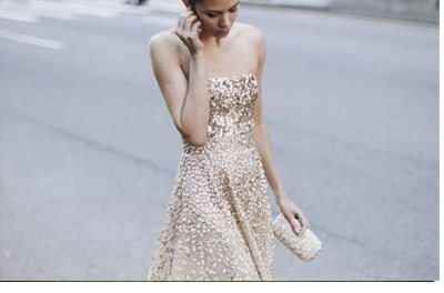 VESTIDOS DE NOVIA DORADOS oro-vestido