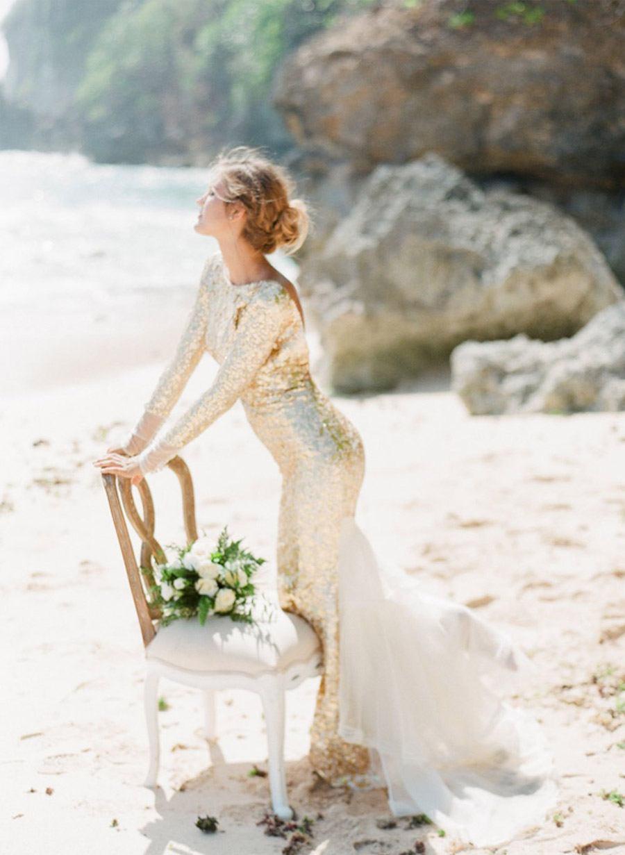 VESTIDOS DE NOVIA DORADOS vestido-de-novia-dorado-2