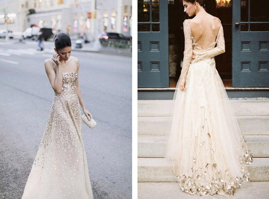 VESTIDOS DE NOVIA DORADOS vestidos-novia-oro