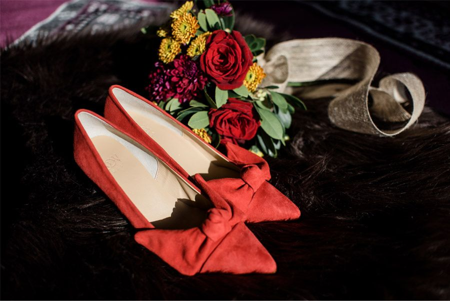THE HEAT OF LOVE zapatos-novia