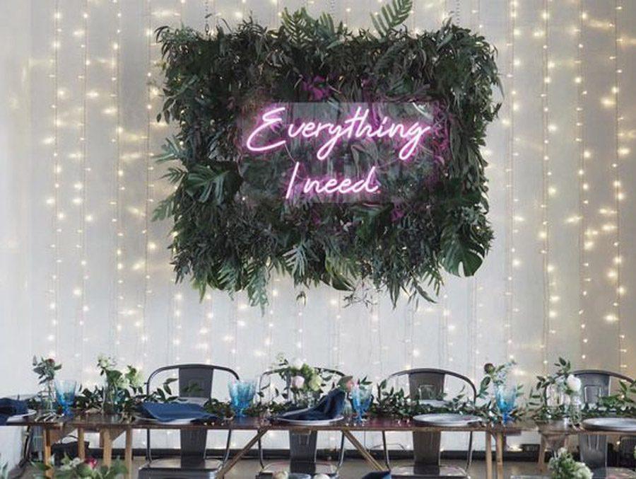 INSPIRACIÓN: FRASES DE NEÓN boda-cartel-neon