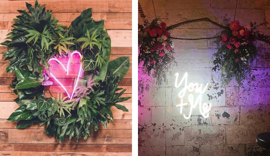 INSPIRACIÓN: FRASES DE NEÓN cartel-neon-bodas
