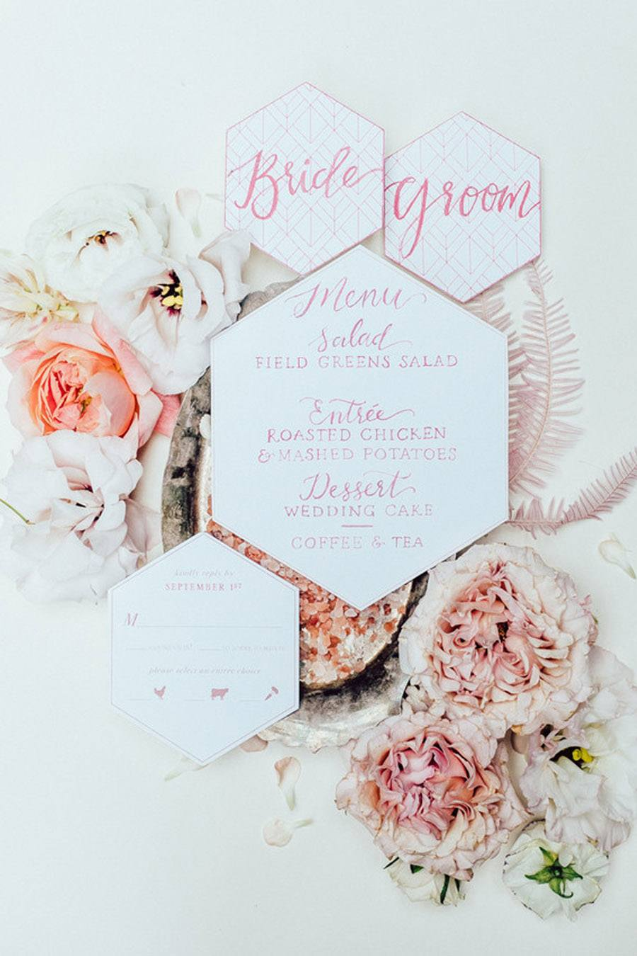 INSPIRACIÓN: TODO AL ROSA invitación-rosa