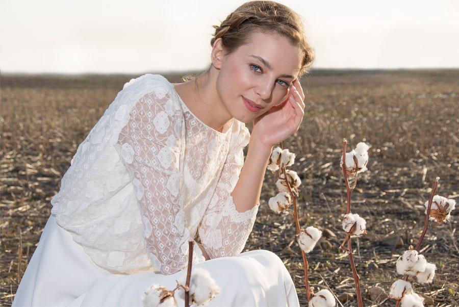 AIRES BUCÓLICOS EN LA NUEVA INSPIRACIÓN DE POL NÚÑEZ vestidos-de-novia-pol-nuñez