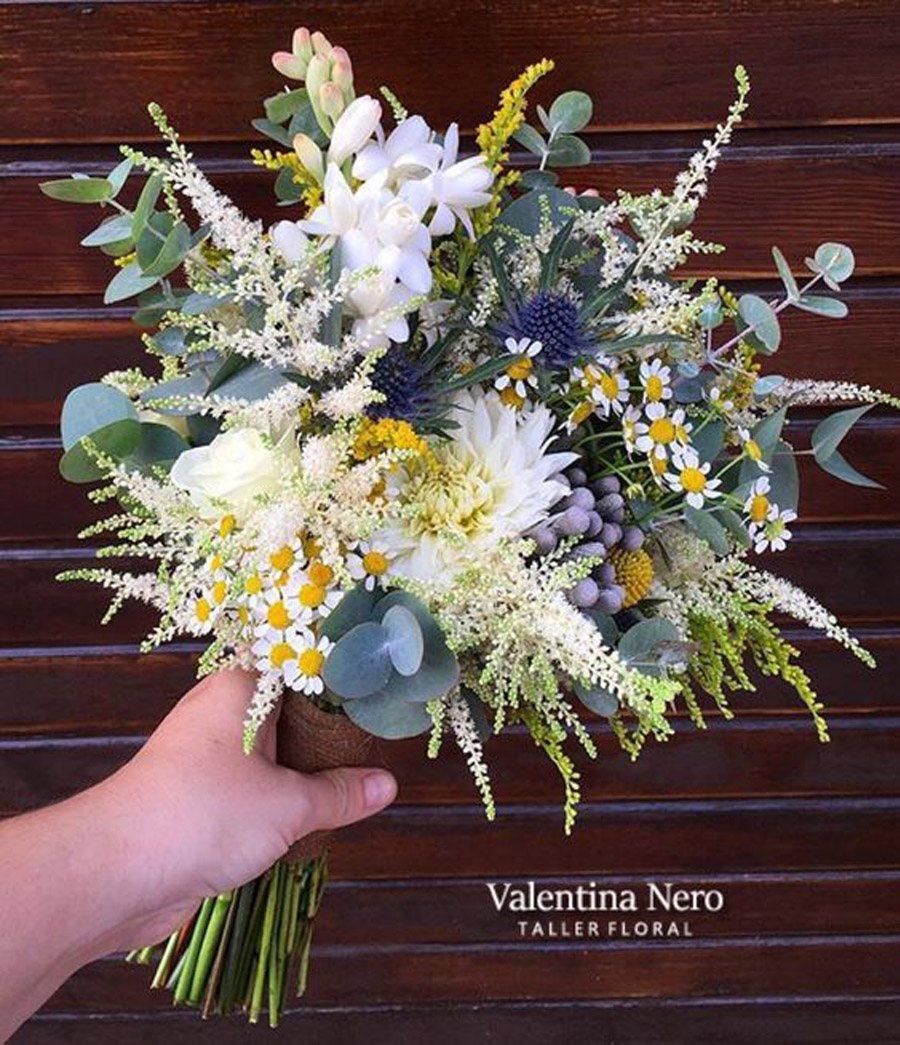 RAMOS DE NOVIA CON NARDOS bouquet-nardos