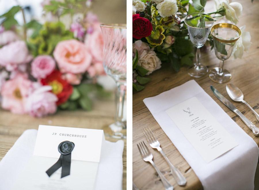 EMMA & CHRIS: ELEGANTE BODA EN MALIBÚ mesa-boda